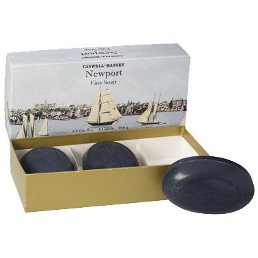 Newport Bath Soap by Caswell-Massey (Box of Three)