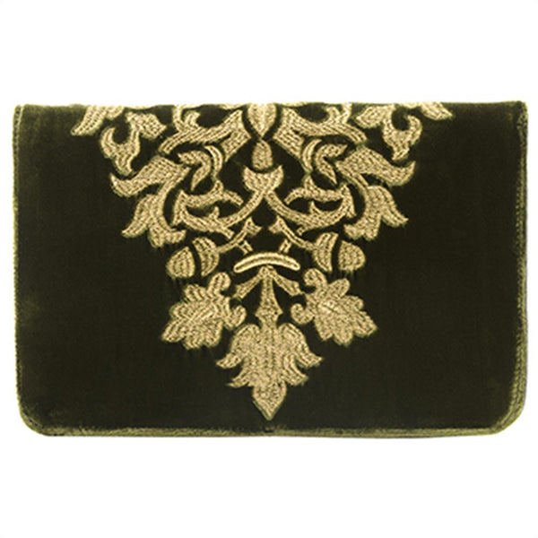 Arabela Jewelry Pouch in Olive