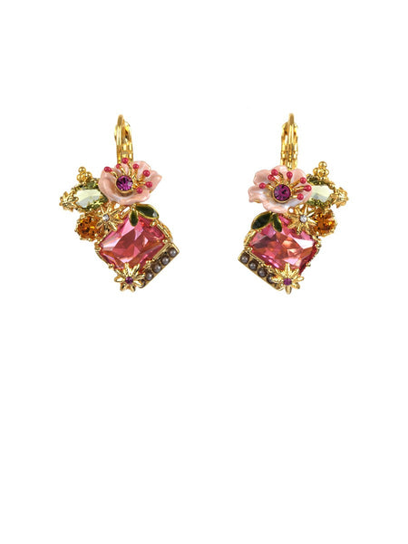 Dazzling discretion earrings