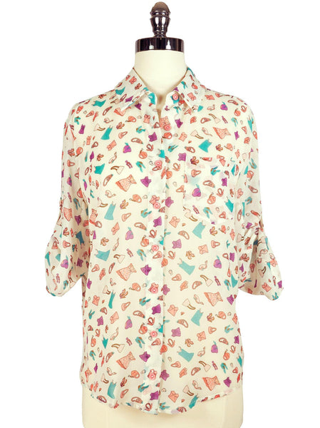Soho Saturday Blouse