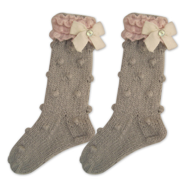 Lady Grey Knitted Socks