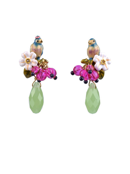 Love garden earrings