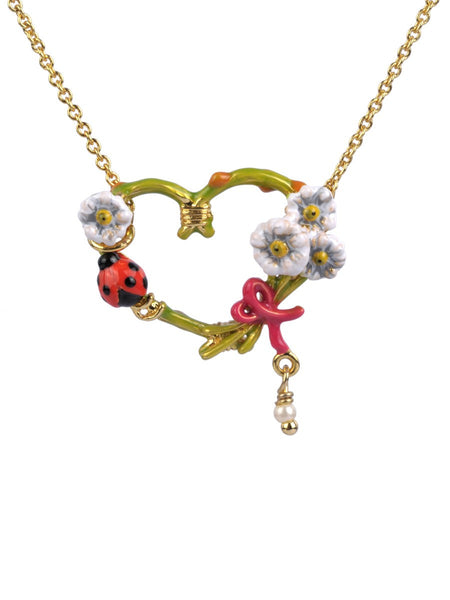 Saint valentin necklace