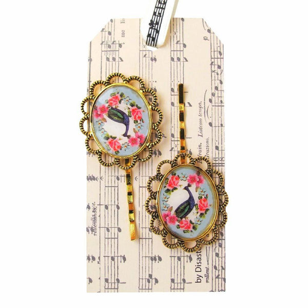 Songbird Cameo Hairclips