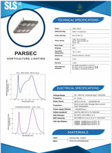 Load image into Gallery viewer, PARSEC 340 DUAL SPECTRUM GROW LIGHT