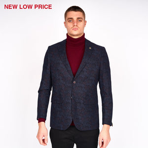 Mens Tailored Jacket Gabicci Maddox St London - M41MJ05 Navy