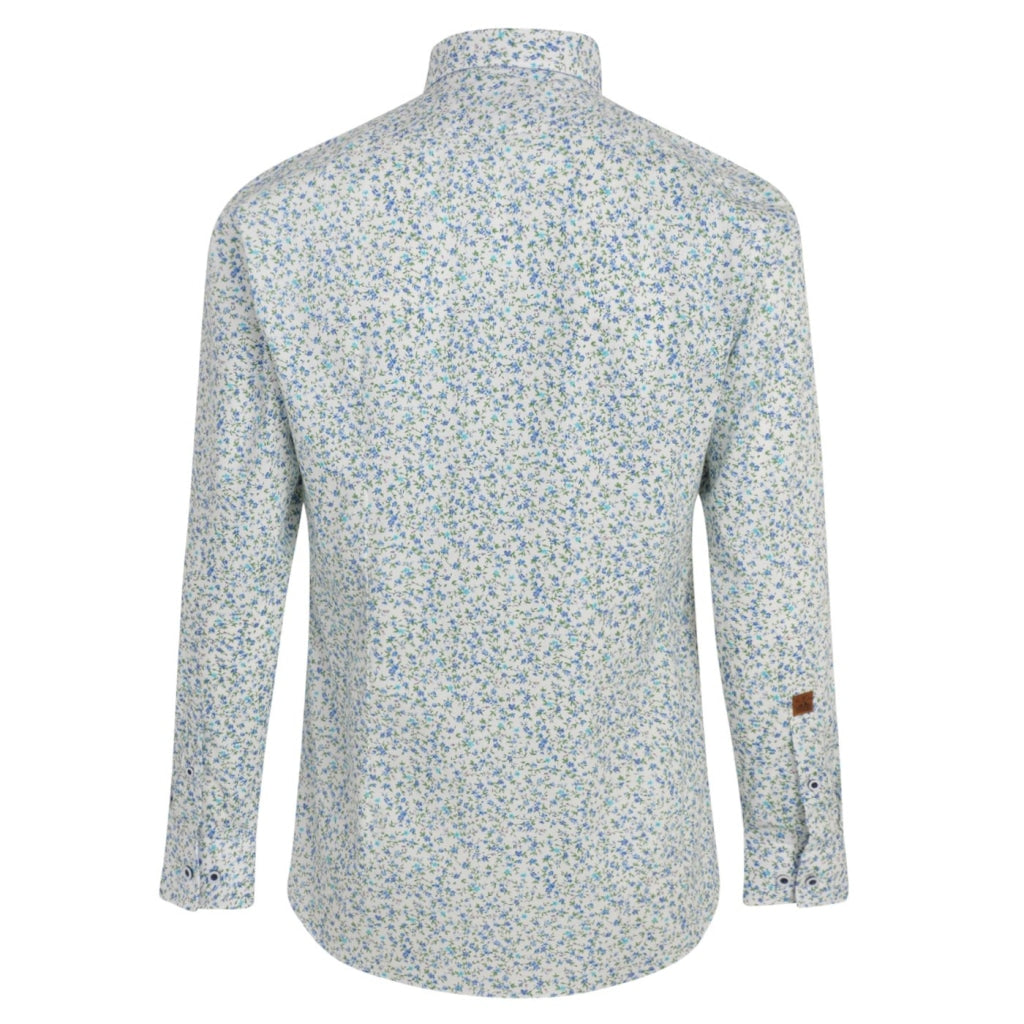 Mens Long Sleeve Shirt Gabicci Maddox Street London - M42MW10 Fistral