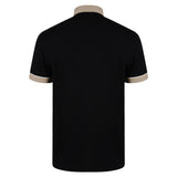 Mens Polo Shirt Classic Gabicci - G00X62 Black