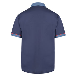 Mens Polo Shirt Classic Gabicci - G00X62 Navy