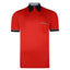 Mens Polo Shirt Classic Gabicci - G00X62 Red