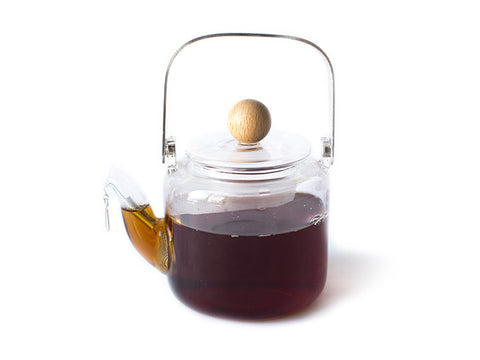 Mini Glass Teapot