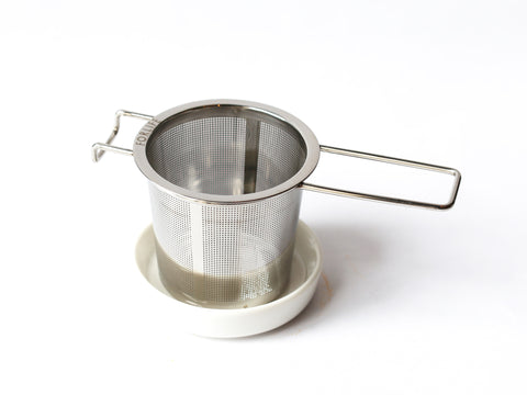 Stainless Steel Infuser + Dish