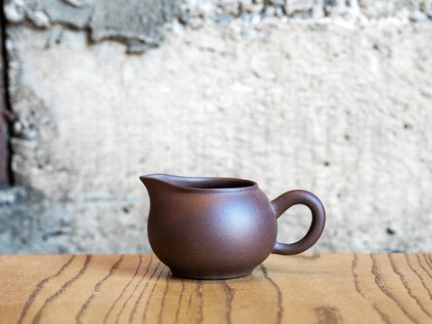 Yixing Clay Pitcher, 6oz (Purple Clay)