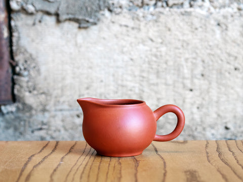 Yixing Clay Pitcher, 6oz (Red Clay)