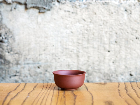 Yixing Clay Cup, 2oz (Purple Clay)
