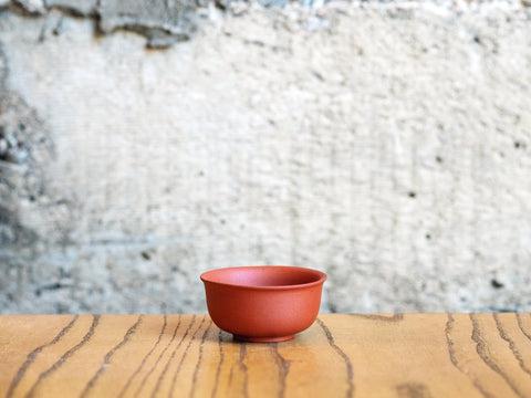 Yixing Clay Cup, 2oz (Red Clay)