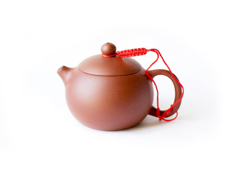 Yixing Clay Teapot, Beauty, 6 oz (Red Clay)