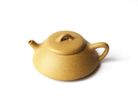 Yixing Clay Teapot, 6oz (Yellow Clay)