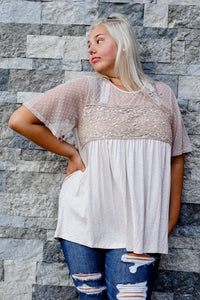 Dreamy Mesh Swing Top