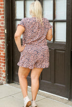 Load image into Gallery viewer, Sunny Days Ruffle Leopard Romper