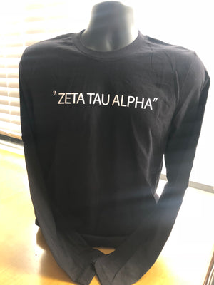 ZTA Fall Collection Long Sleeve