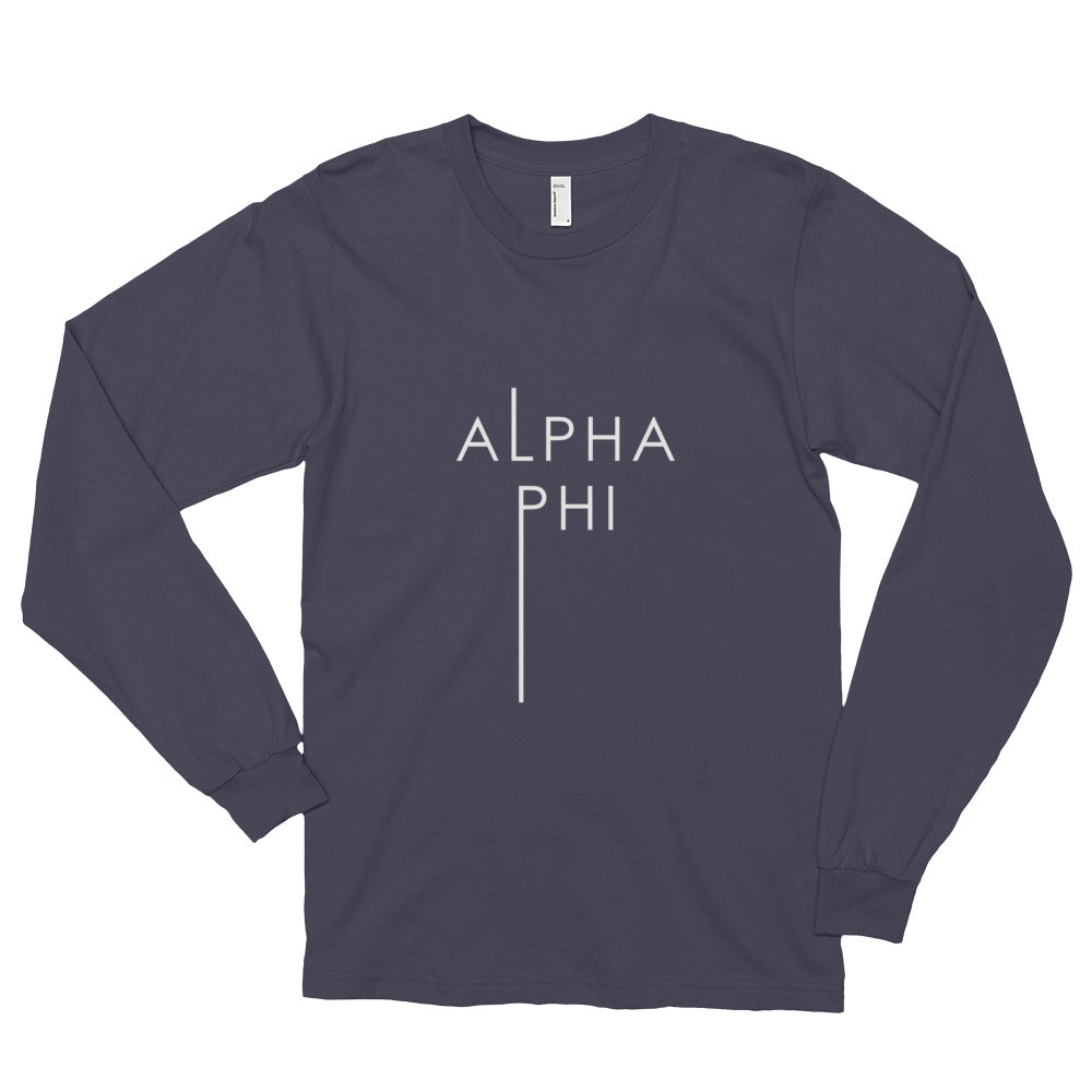 Alpha Phi Long sleeve t-shirt