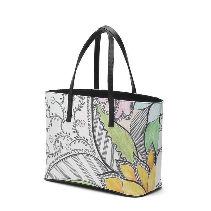 Akruti Artz Kika Leather Tote Bag