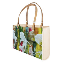 Load image into Gallery viewer, Akruti Artz Abstract Leaf Leather HandBag