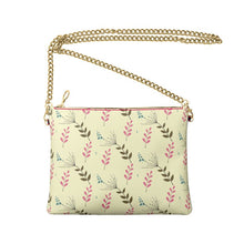 Load image into Gallery viewer, AkrutiArtz Floral Crossbody Leather Bag