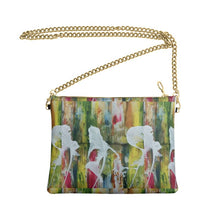 Load image into Gallery viewer, AkrutiArtz Abstract Crossbody Leather Bag