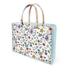 Load image into Gallery viewer, Akruti Artz Spring Flower Leather HandBag