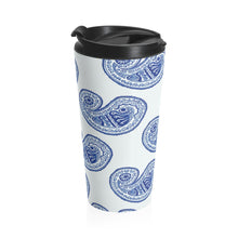 Load image into Gallery viewer, Blue Diamond Stainless Steel Travel Mug