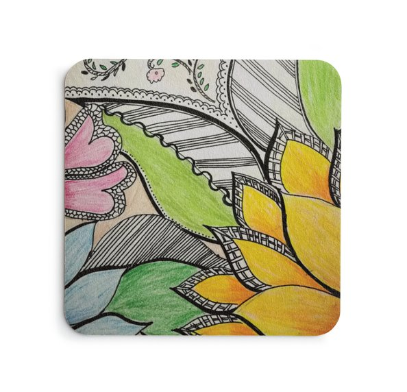Mix Flowers Coasters