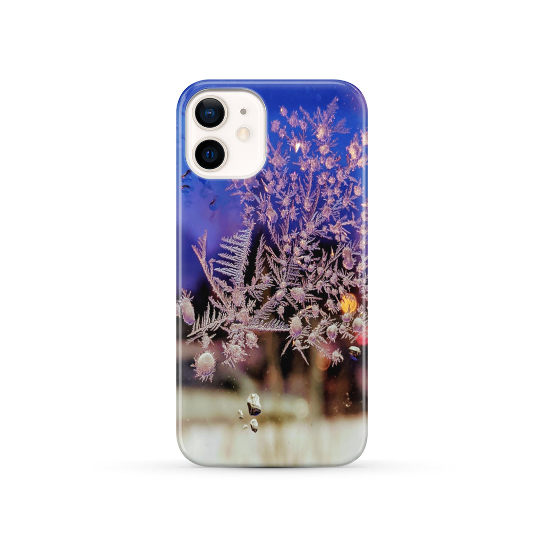 Akruti Artz Snow Flakes Slim Phone Case
