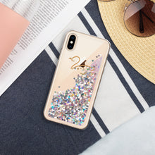 Load image into Gallery viewer, Swan Liquid Glitter Phone Case