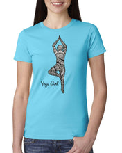 Load image into Gallery viewer, Akruti Artz Yoga Girl T-Shirt