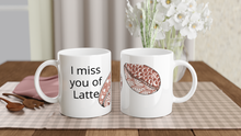 Load image into Gallery viewer, Coffee Beans White 11oz Ceramic Mug