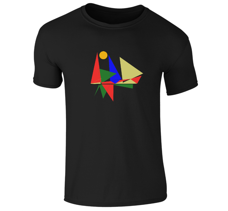 Akruti Artz Geometric T-Shirt Men's