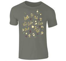 Load image into Gallery viewer, Akruti Artz Coffee Shirt