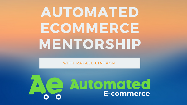 Automated Ecommerce Mentorship - Payment Plan 3 x $2,000 (With Exclusive Support)