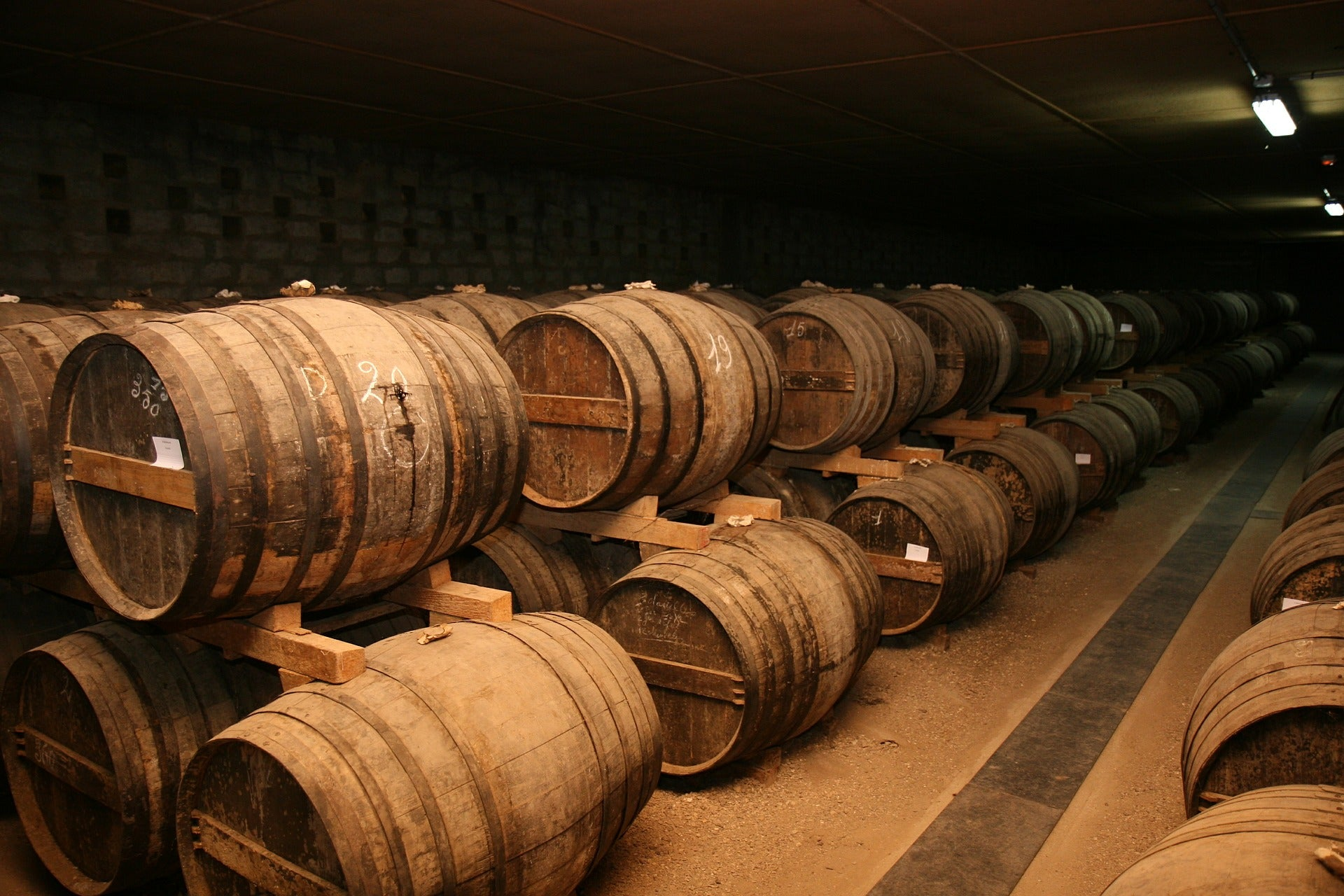 A Beginner's Guide to Cognac: Aged Barrels
