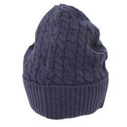 Unisex Cable Knit Beanie Hat
