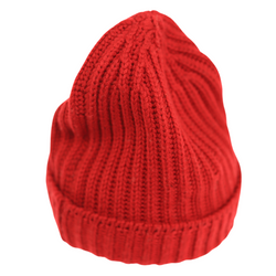 Unisex Double Ribbed Beanie Hat