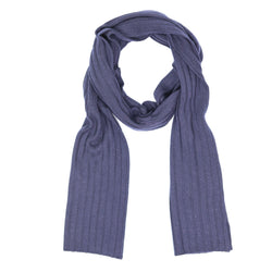 Unisex Wide-Ribbed Scarf
