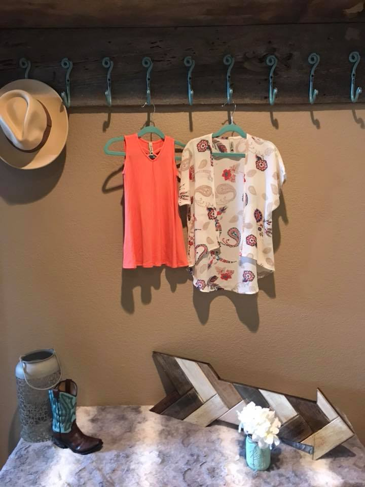 Peach Kids Dress