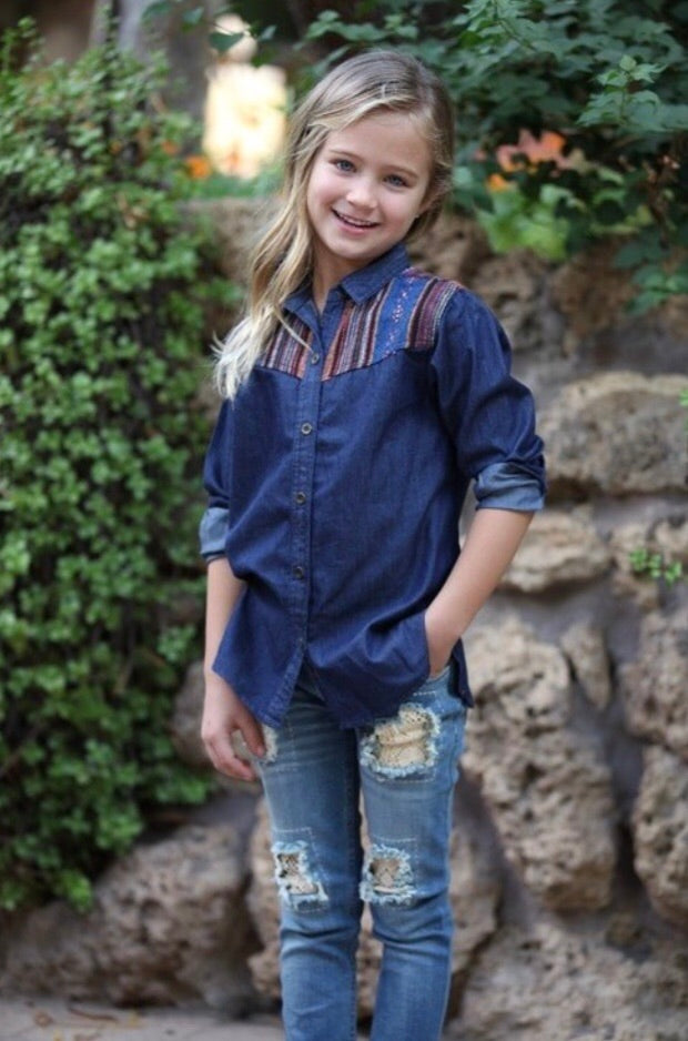Kids Denim Top