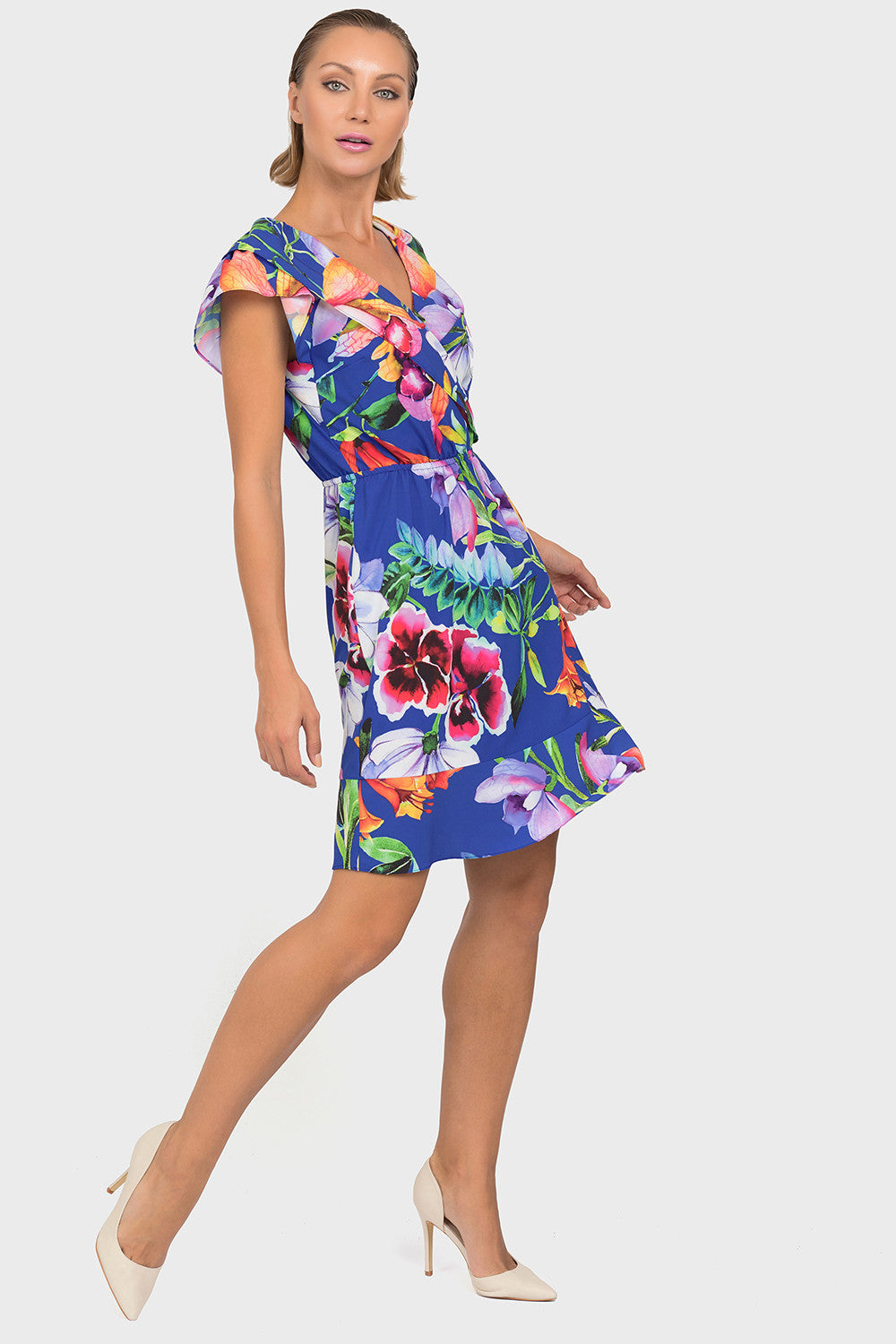 FLORAL TUNIC DRESS 192673