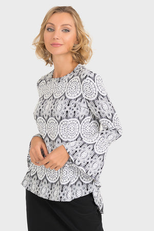 BELL SLEEVE TOP 193828