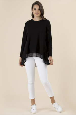 LONG SLEEVE LAYERING TOP 36919
