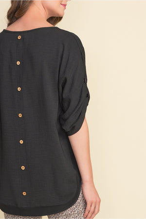 BUTTON DETAIL TUNIC